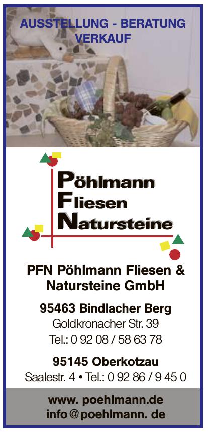 PFN Pöhlmann Fliesen & Natursteine GmbH