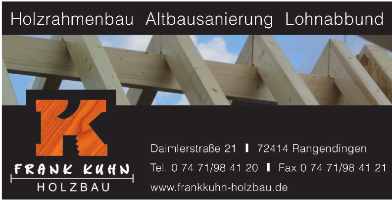 Frank Kuhn Holzbau