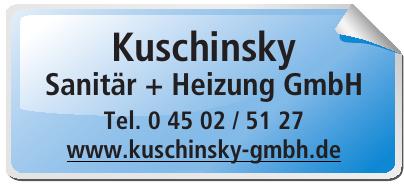Kuschinsky Sanitär + Heizung GmbH