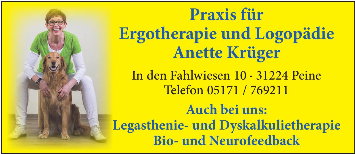 Praxis für Ergotherapie und Logopädie Anette Krüger
