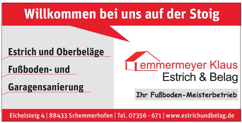 Lemmermeyer GmbH - Estrich & Belag