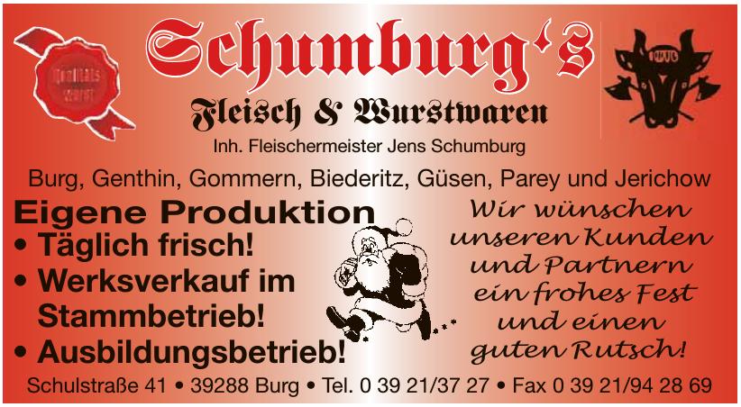 Schumburg's Fleisch & Wurstwaren