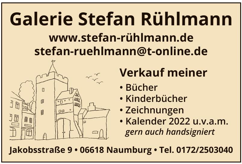 Galerie Stefan Rühlmann