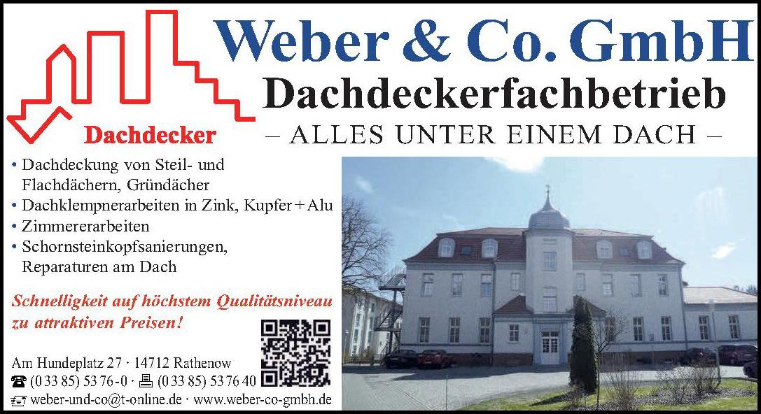 Weber&Co.GmbH, Dachdeckerfachbetrieb