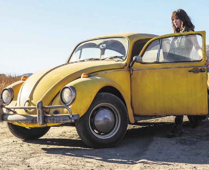 Die 18-jährige Charlie und Bumblebee verbindet eine starke Freundschaft. Foto: Paramount Pictures