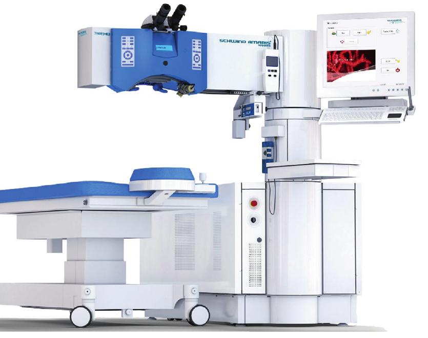 Referenzzentrum für den schnellsten Augenlaser der Welt: Durch den Schwind Amaris 1050 RS minimiert sich die Behandlungszeit.