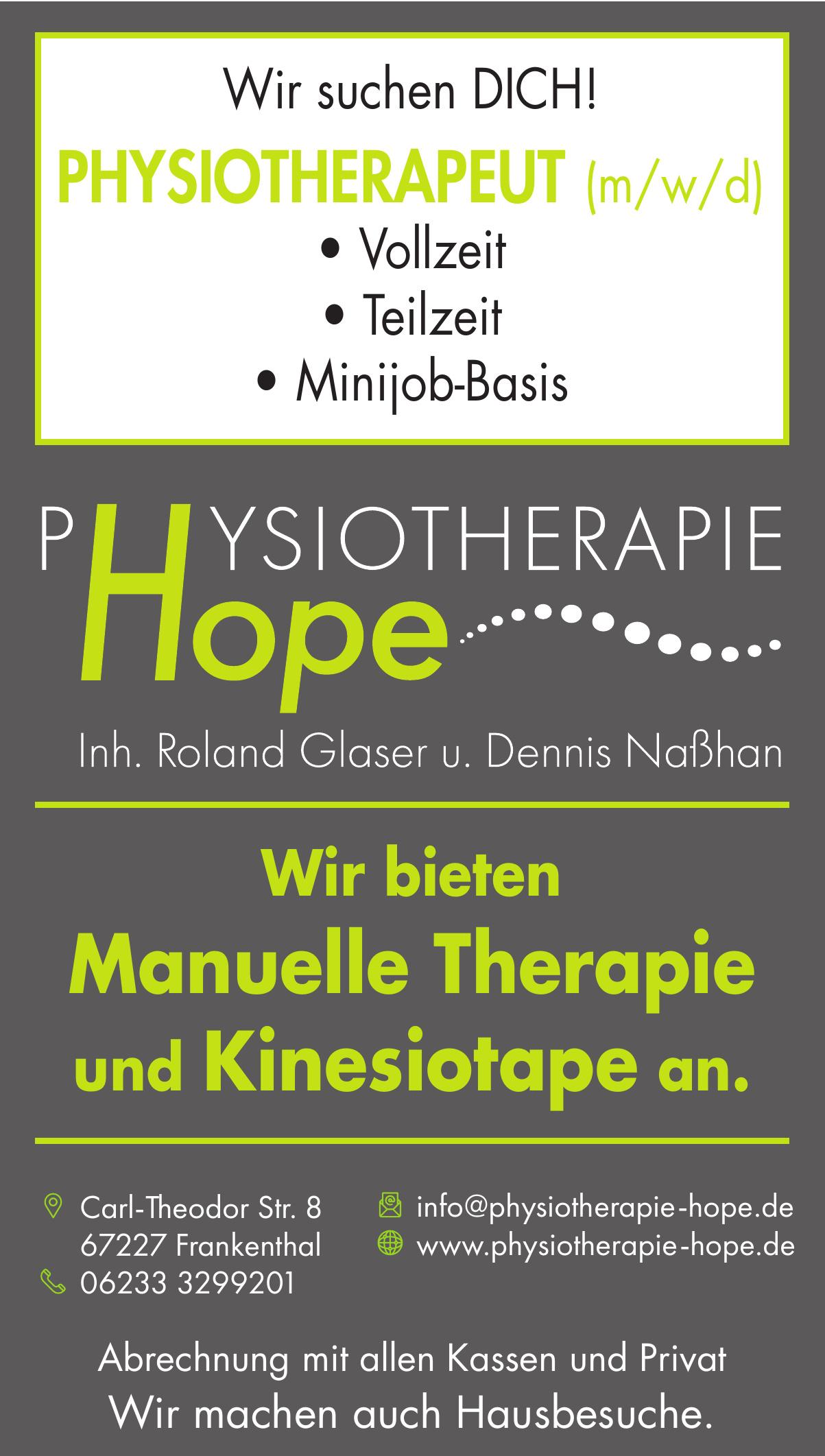 Physiotherapie Hope GbR