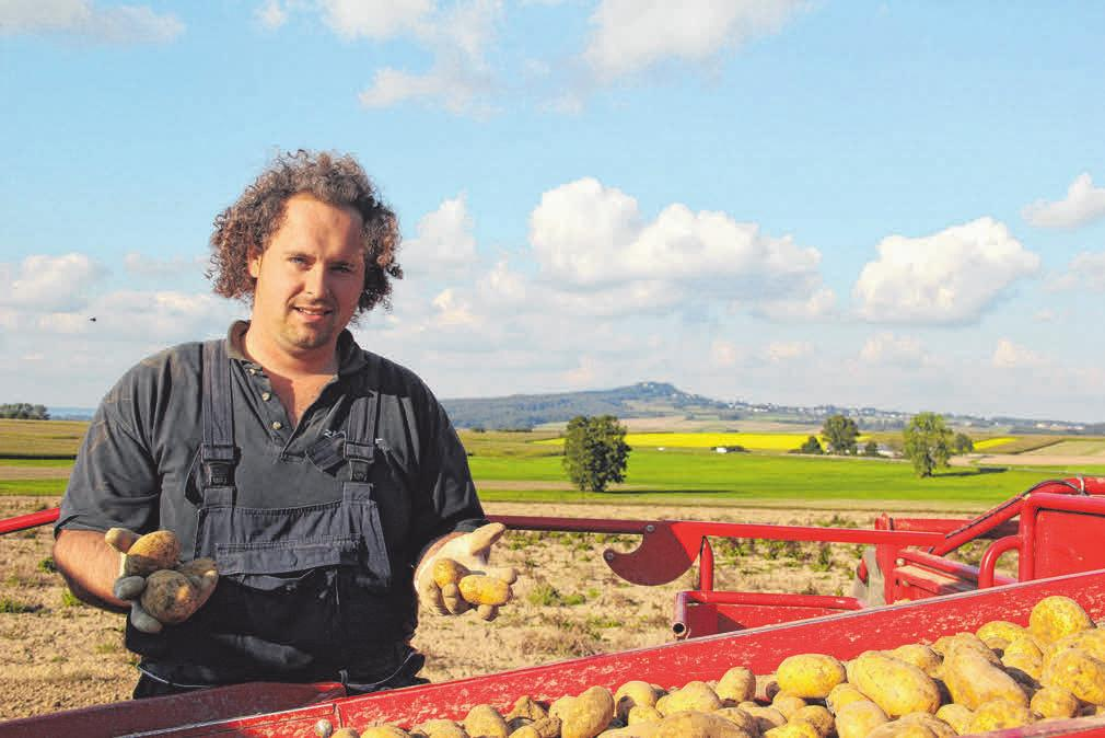 Auf dem Betrieb der Familie Diesch in Dürmentingen dreht sich alles um die Kartoffel. Aber auch Nudeln, Marmelade und mehr gibt es rund um die Uhr. FOTOS: OH