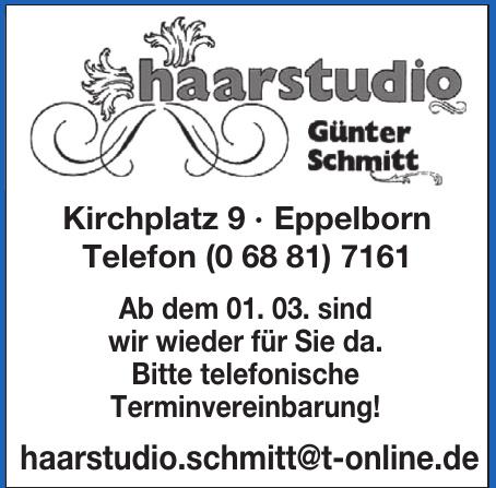Haarstudio Günter Schmitt