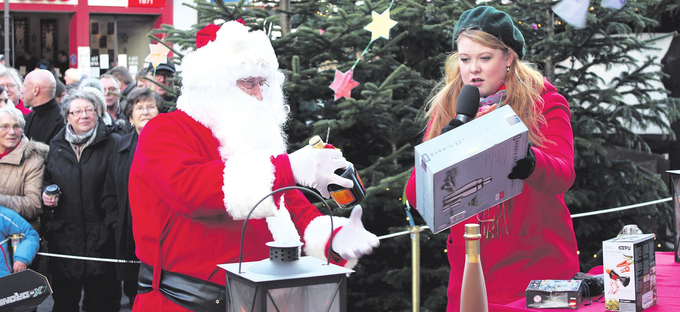 Der Weihnachtsmann schiebt eine Sonderschicht. Foto: ©CTM GmbH/Marcus Feuerstein
