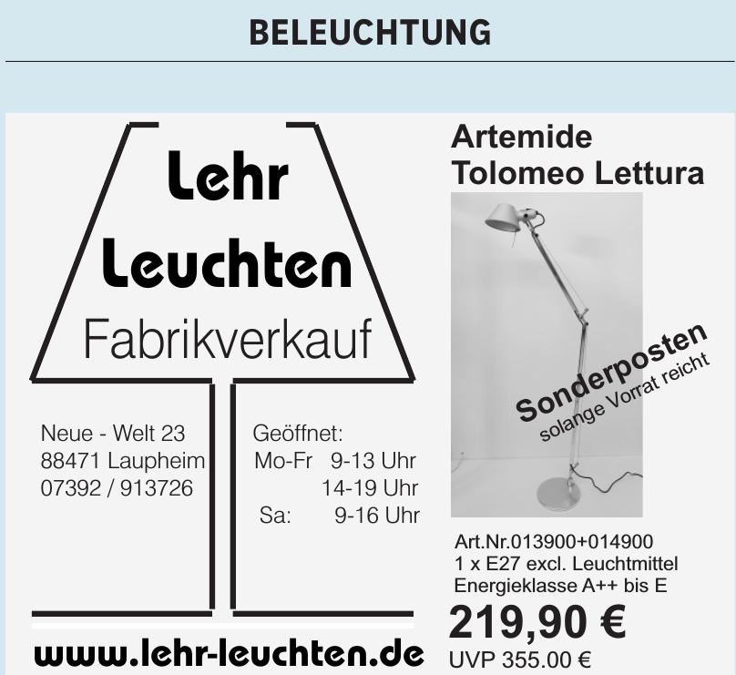 Lehr Leuchten Vertriebs GmbH