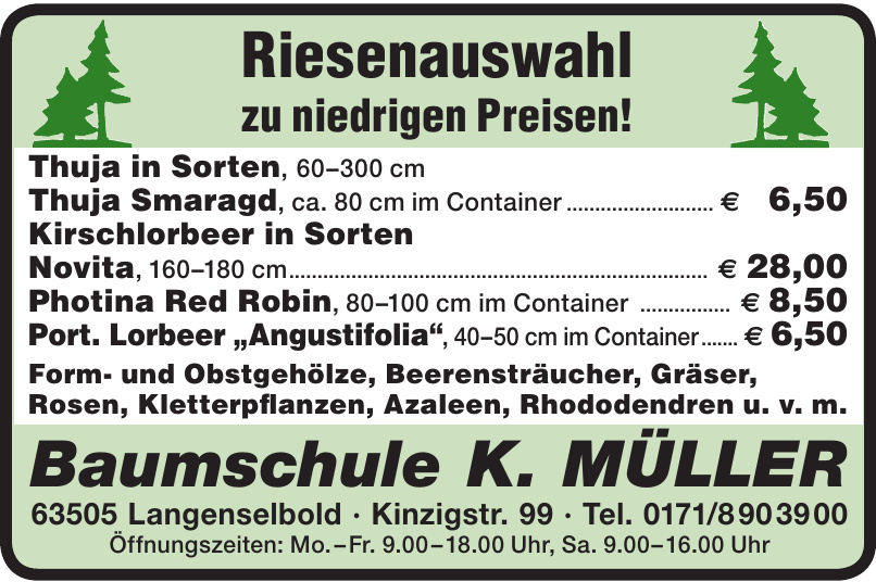 Baumschule K.Müller