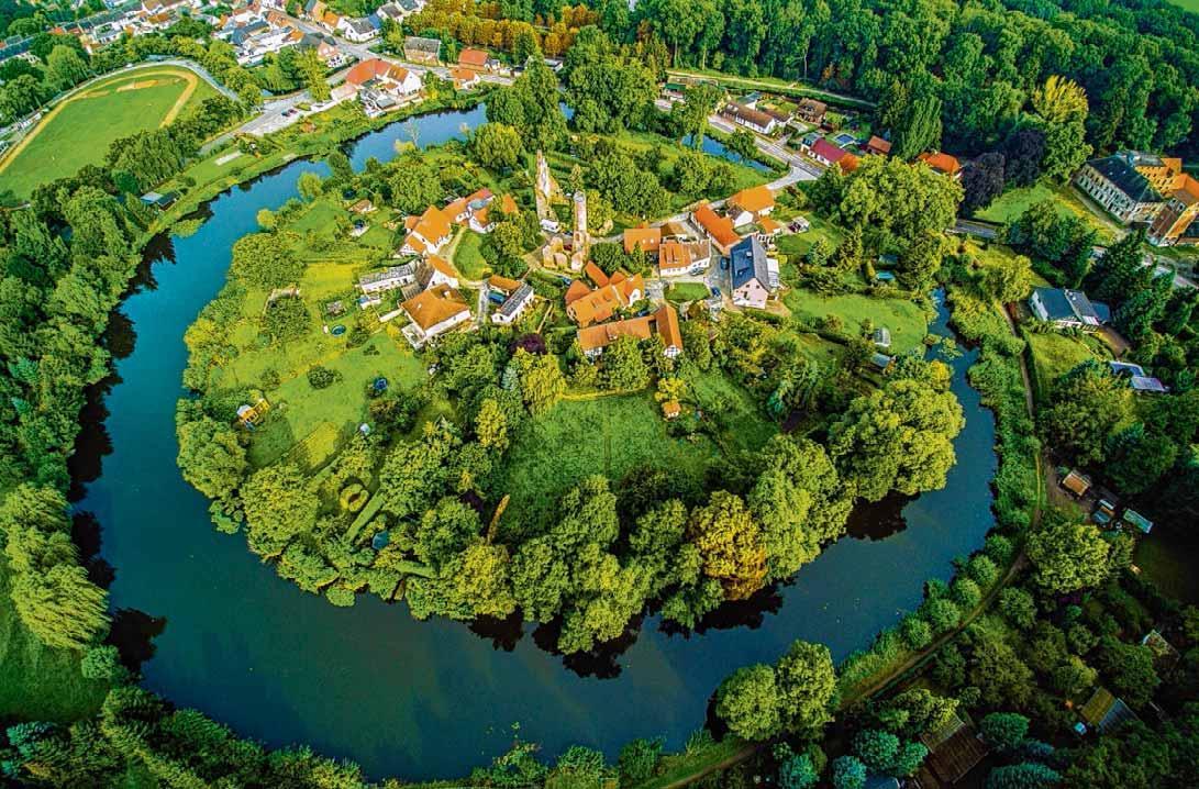 Die Ruinen der ehemaligen Wasserburg in Kalbe (Milde) lassen die einstige Größe nur noch erahnen. Quelle: Stadt Kalbe