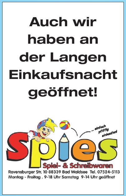 Spiel- & Schreibwaren Spies Inh. Sylvia Spies