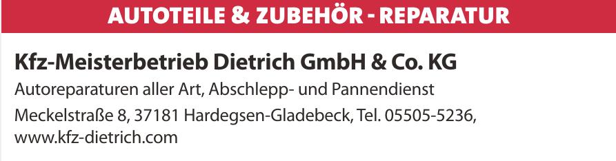 Kfz-Meisterbetrieb Dietrich GmbH & Co. KG