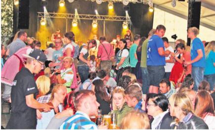 Wiesenfest in Münchberg
