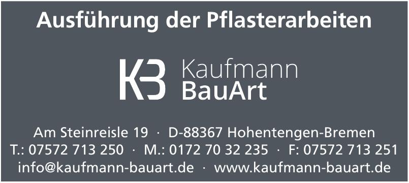 KB Kaufmann BauArt