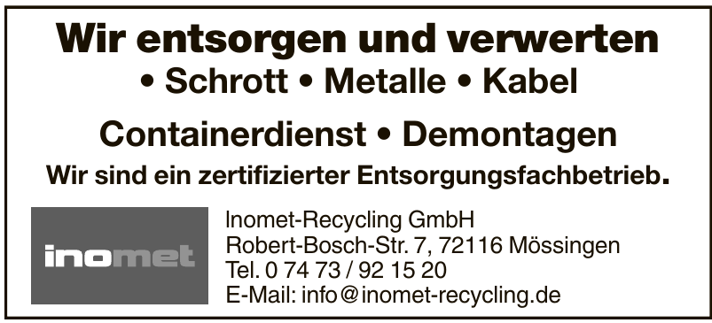 lnomet-Recycling GmbH