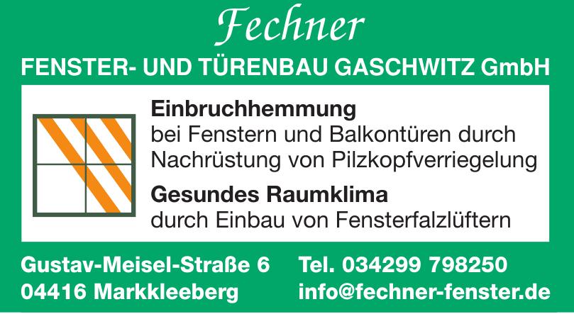 Fechner Fenster- und Türenbau Gaschwitz GmbH