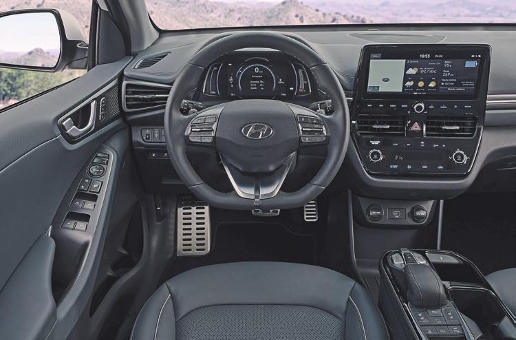Feines Ambiente: Alles dran und alles drin im Hyundai Ioniq Elektro