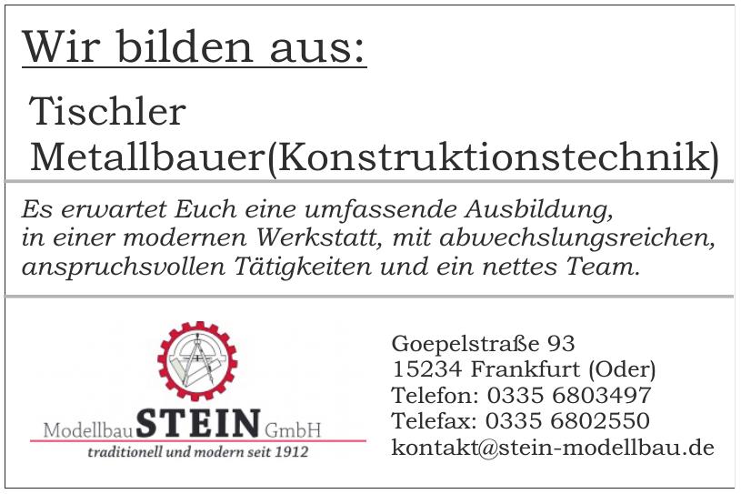 Stein Modellbau