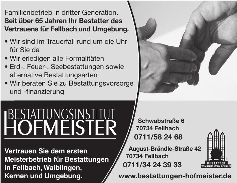 Bestattungsinstitut Hofmeister