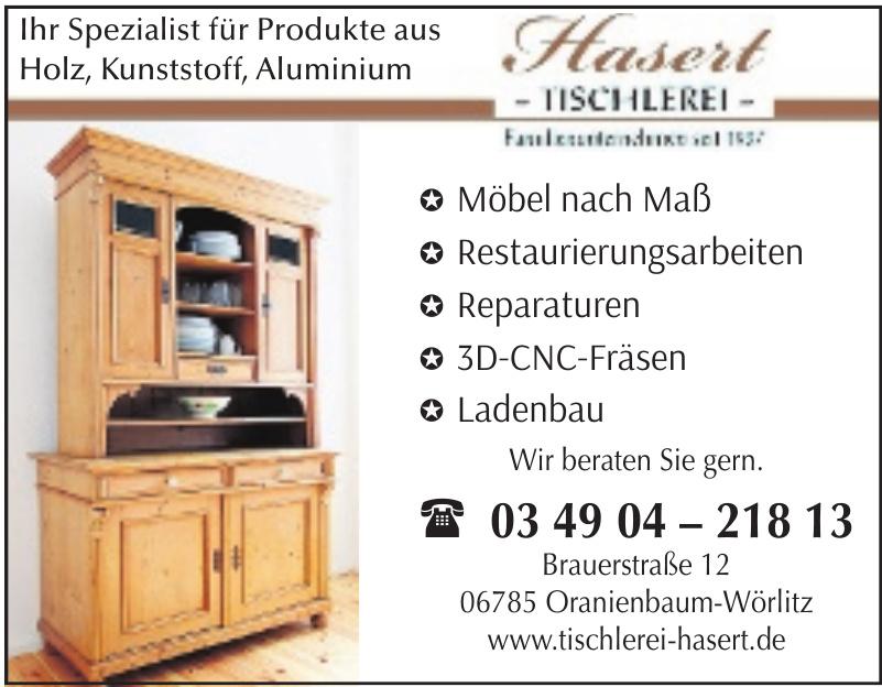 Hasert - Tischlerei