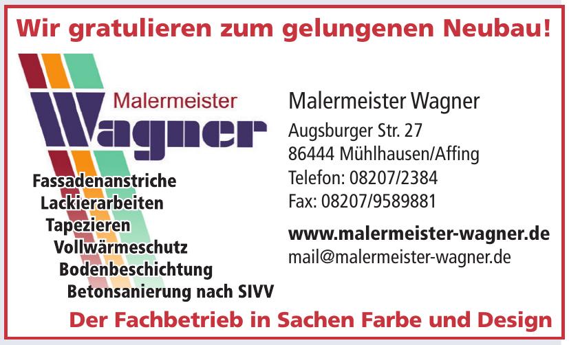 Malermeister Wagner