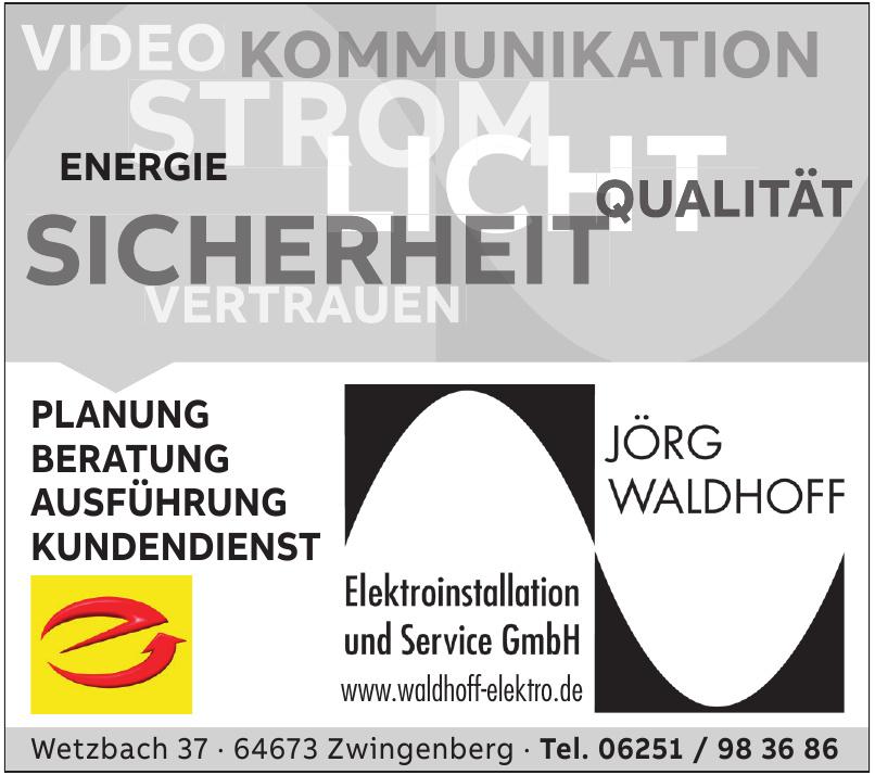 Jörg Waldhoff Elektroinstallation und Service GmbH