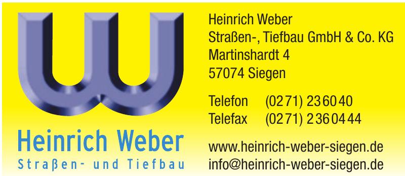 Heinrich Weber Straßen-, Tiefbau GmbH & Co. KG