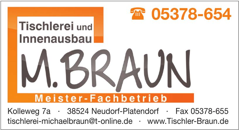 Tischlerei und Innenausbau M. Braun