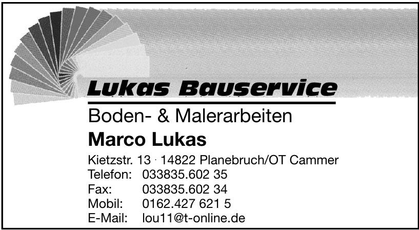 Lukas Bauservice