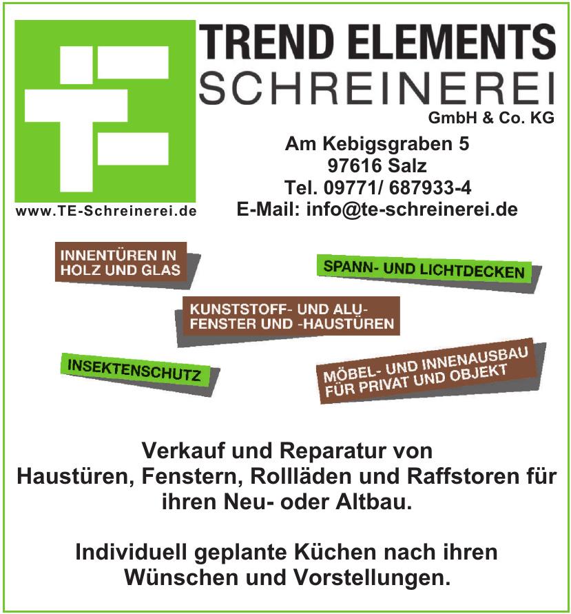 Trend Elements Schreinerei GmbH & Co. KG