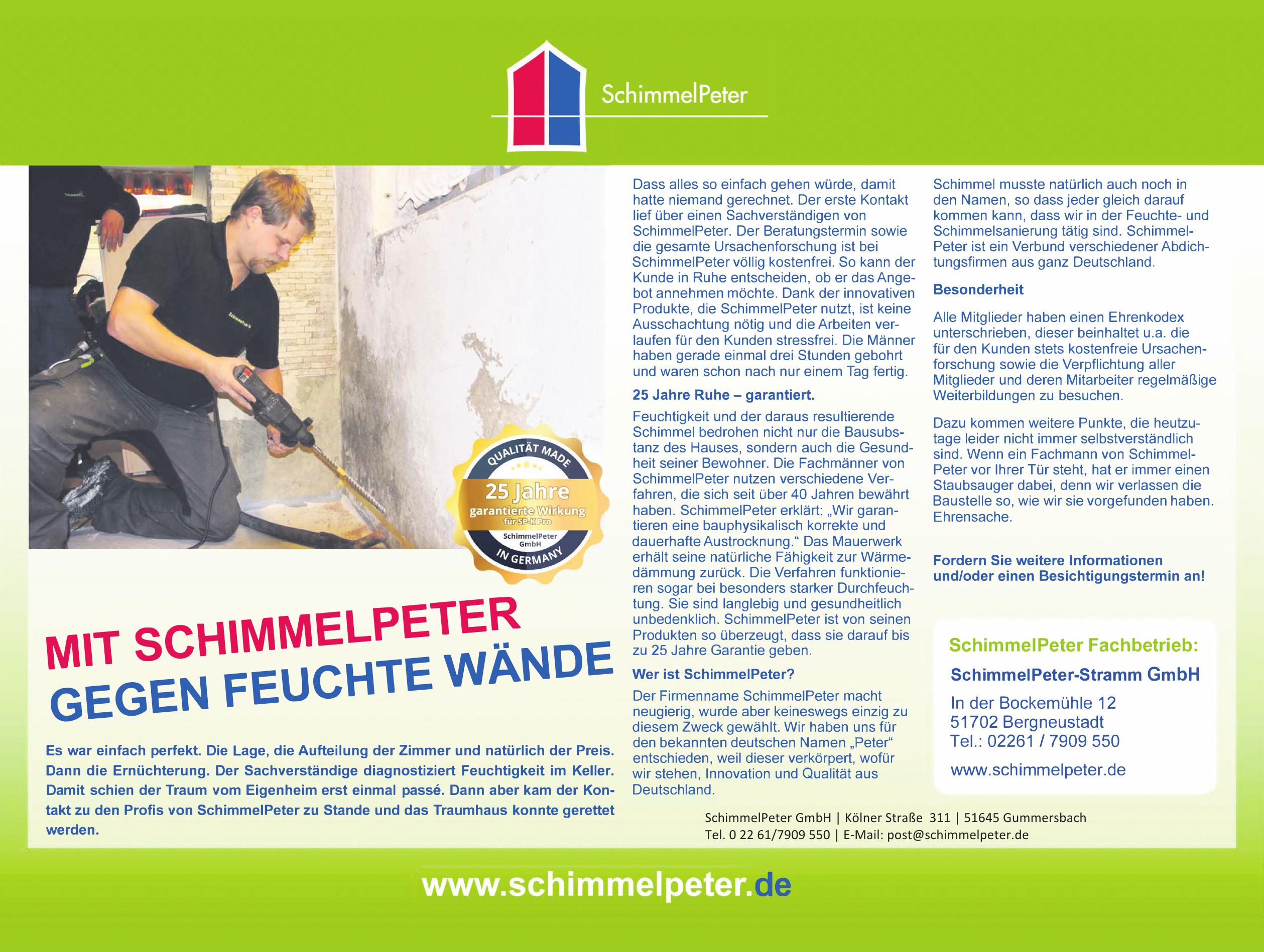 SchimmelPeter-Stramm GmbH