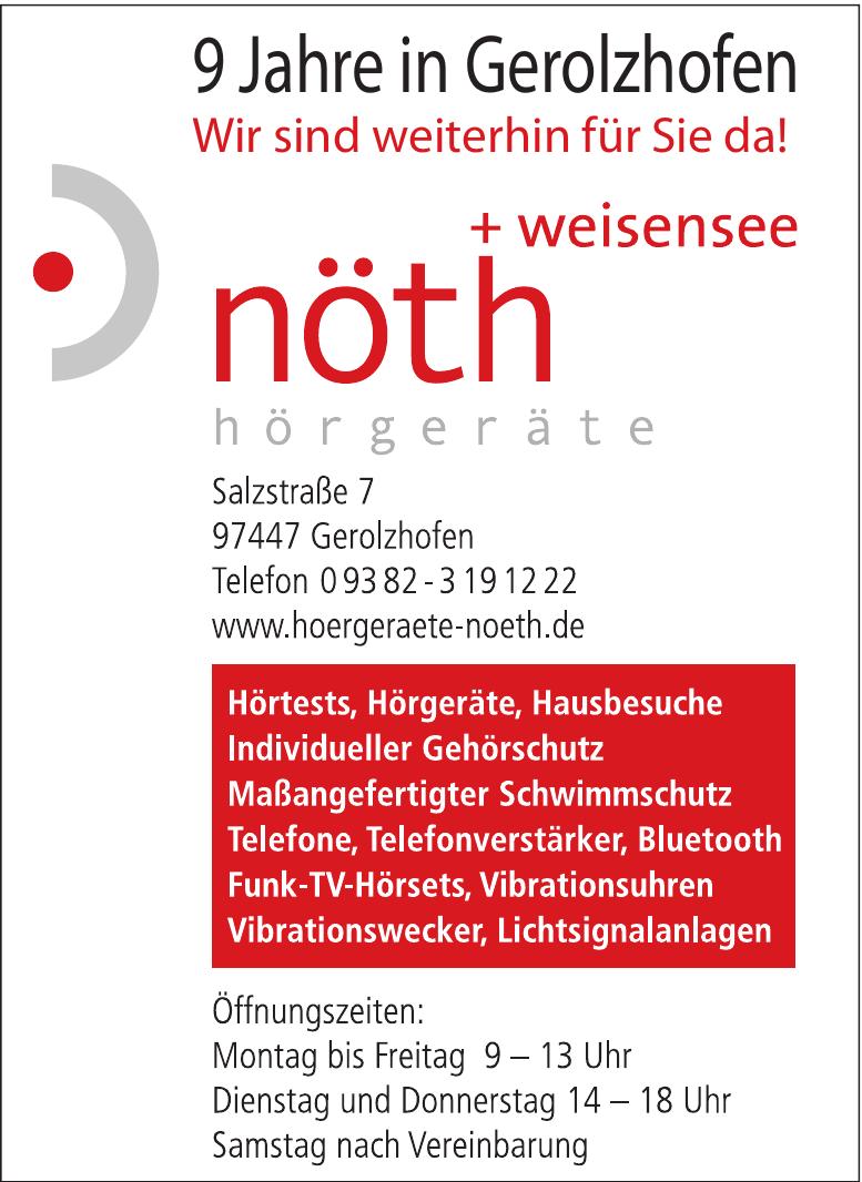 Hörgeräte Nöth + Weisensee
