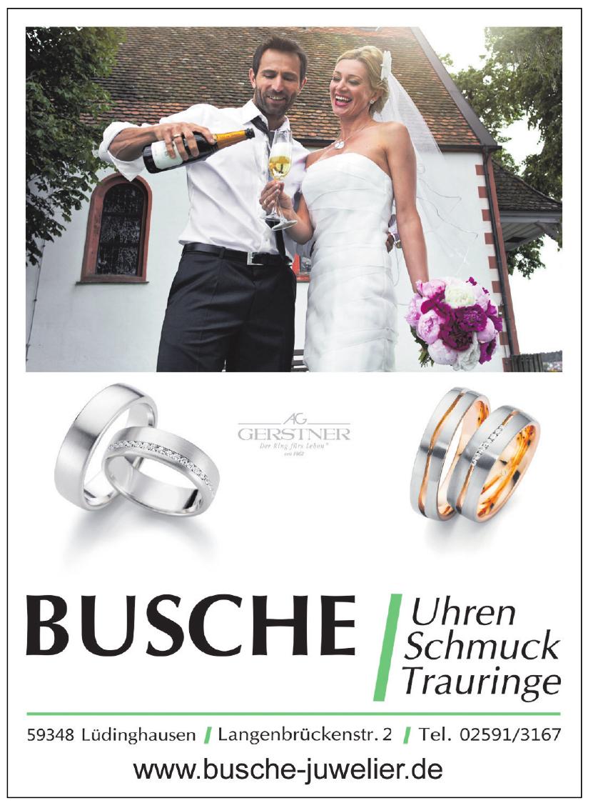 Busche Uhren - Schmuck - Trauringe