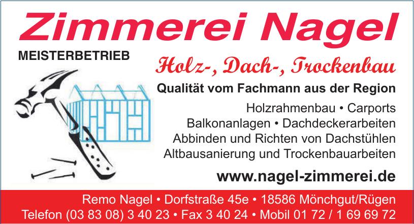 Zimmerei Nagel