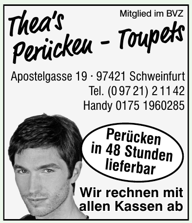 Thea's Perücken - Toupets
