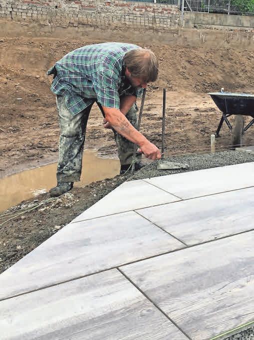 Wer jetzt plant, kann im Frühjahr einen neuen Terrassenbelag bekommen.