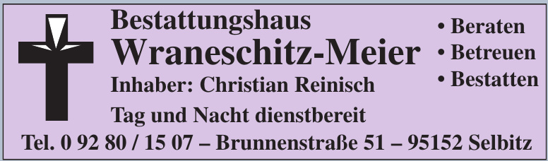 Bestattungshaus Wraneschitz-Meier