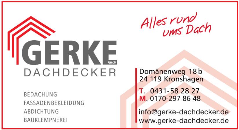 Gerke Dachdecker GmbH