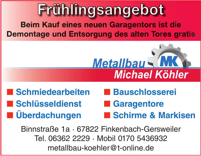 Metallbau Michael Köhler
