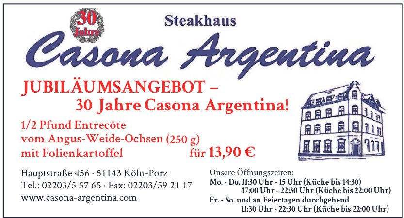 Casona Argentina Steakhaus