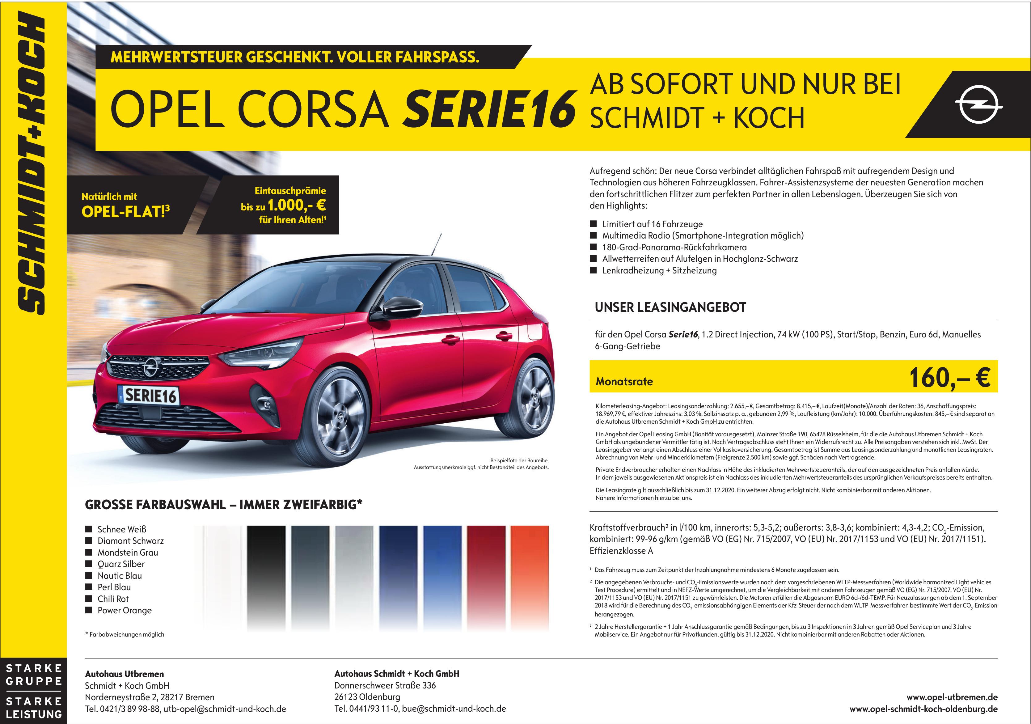 Autohaus Utbremen - Schmidt + Koch GmbH