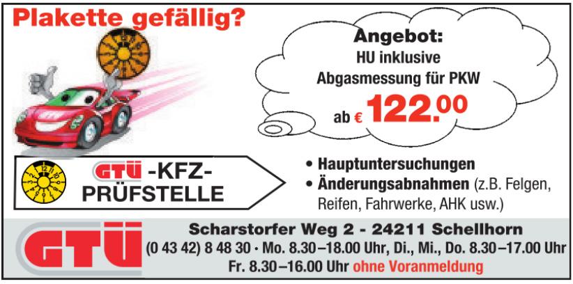 GTÜ - KFZ - Prüfstelle
