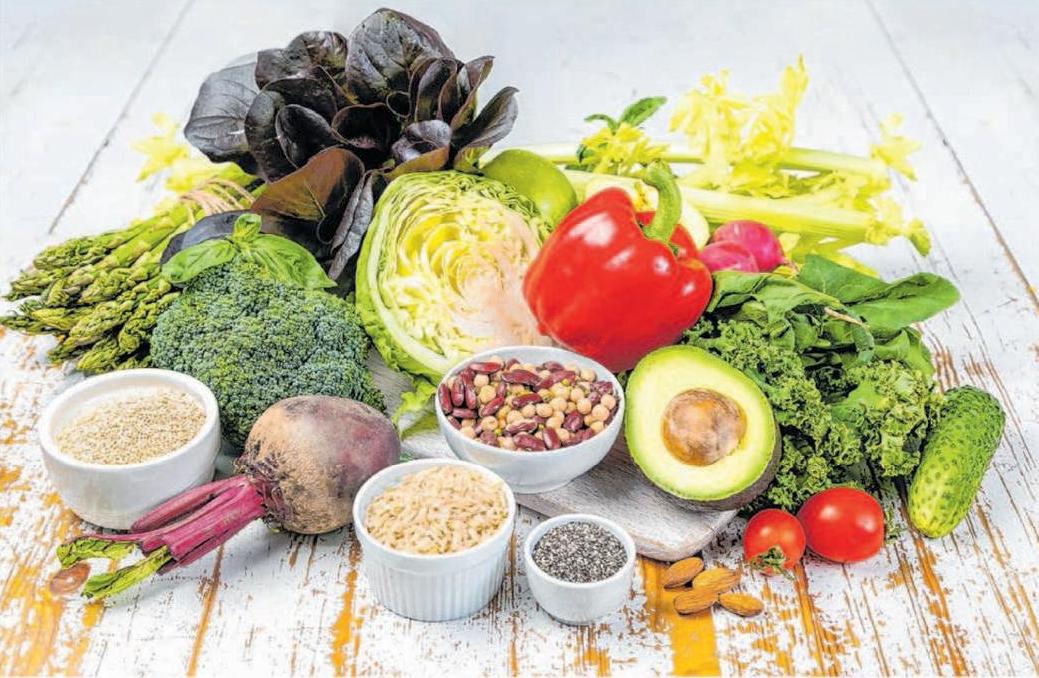 Viel Gemüse bildet die Grundlage der gesunden Ernährung. Foto: © Oleksandra Naumenko/Shutterstock.com