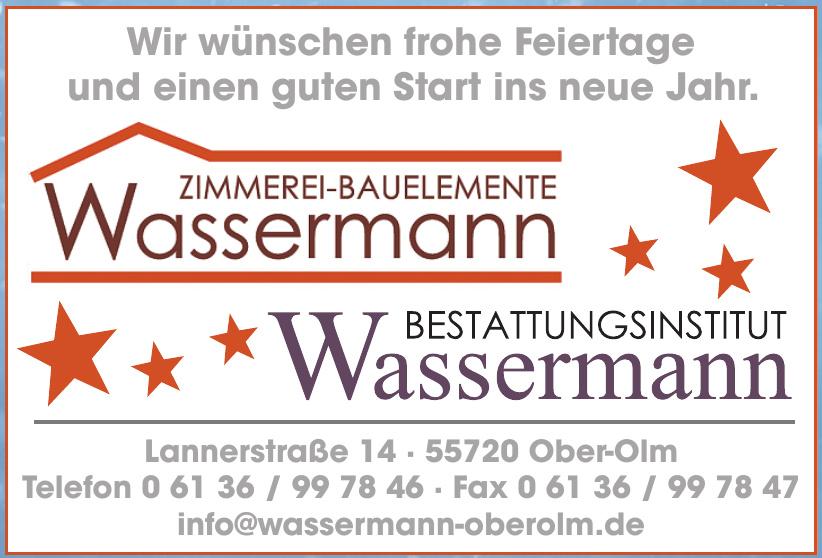 Zimmerei-Bauelemente Wassermann