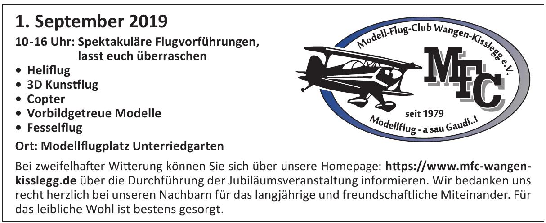 MFC - Wangen-Kisslegg e.V.