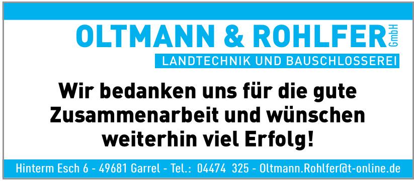 Oltmann & Rohlfer GmbH