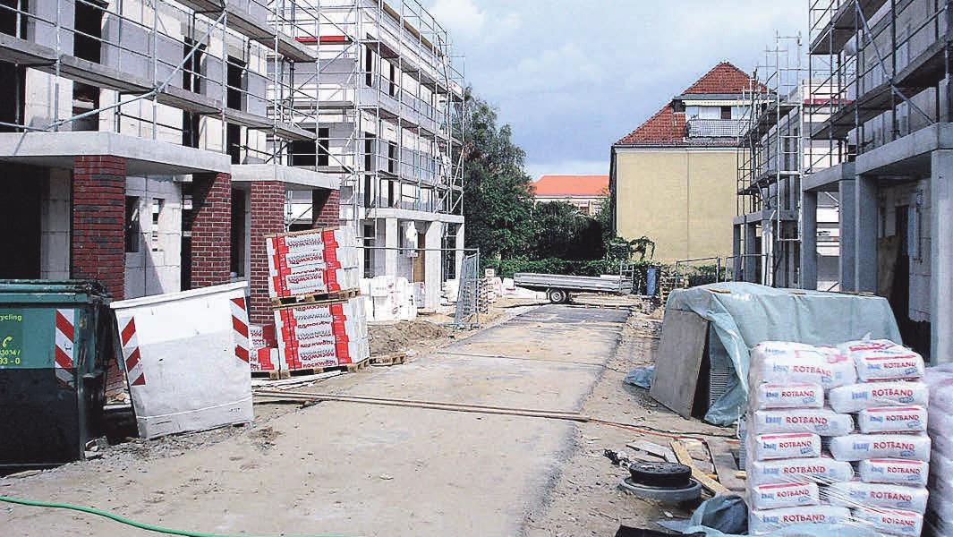 Ein neues Wohngebiet für junge Familien.Foto:Busche